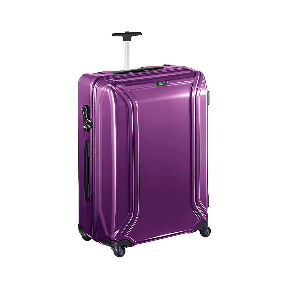 Zero Halliburton Zero Air 23 Suitcase Pearl Violet Zero Halliburton Hardside Checked