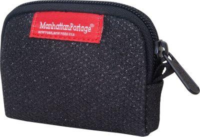 Manhattan Portage Midnight Coin Purse Black - Manhattan Portage Women's Wallets