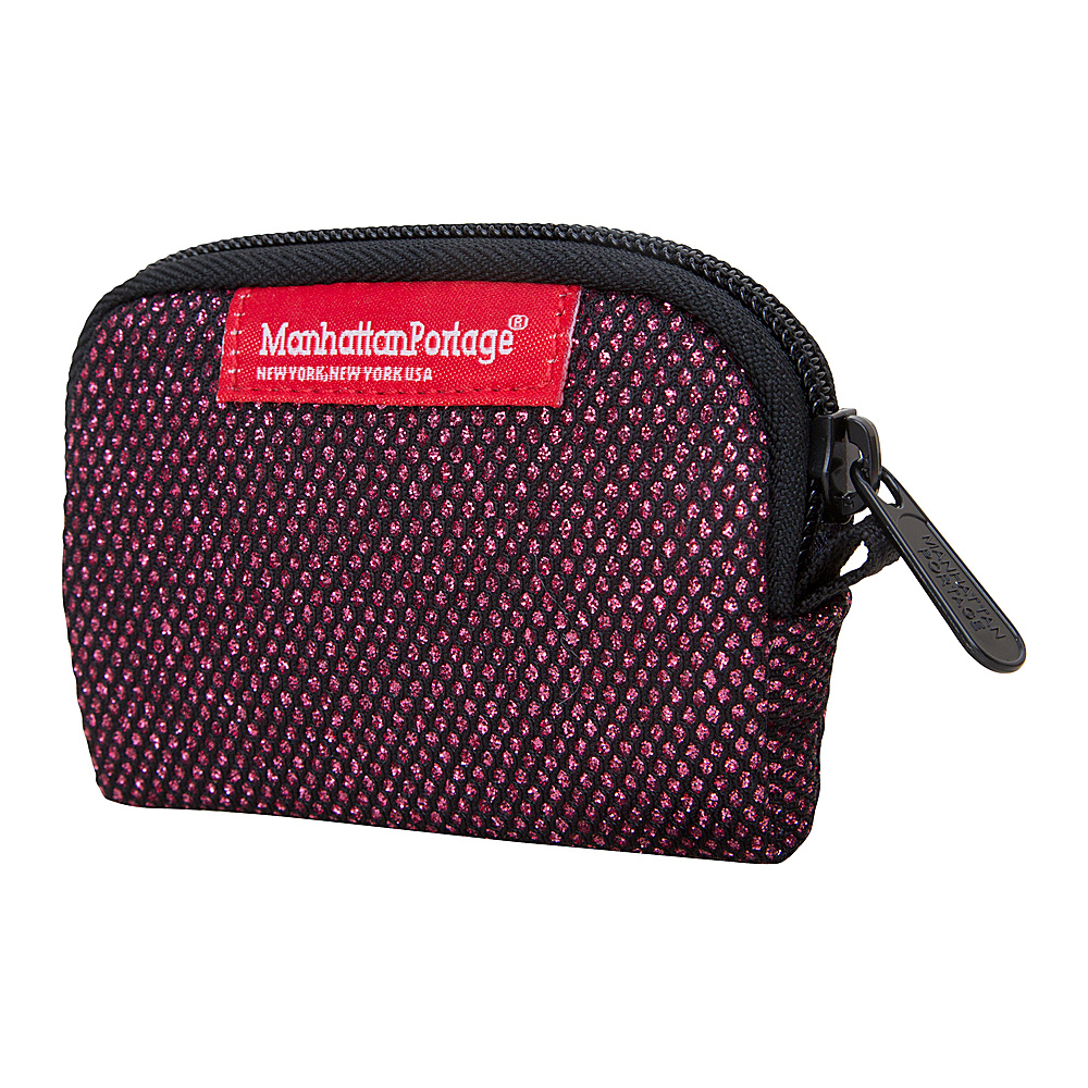 Manhattan Portage Midnight Coin Purse Burgundy - Manhattan Portage Womens Wallets - Women's SLG, Women's Wallets