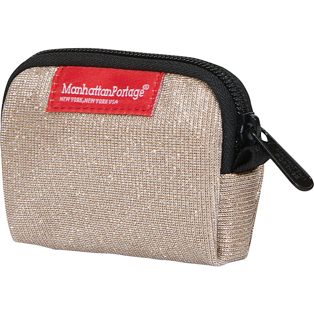 Manhattan Portage Midnight Coin Purse Champange - Manhattan Portage Womens Wallets - Women's SLG, Women's Wallets