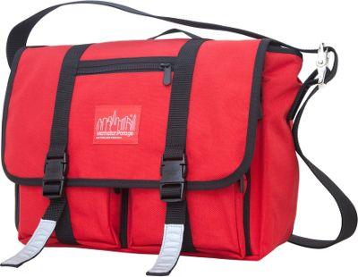 Manhattan Portage Trotter Messenger Bag Jr. Red - Manhattan Portage Messenger Bags
