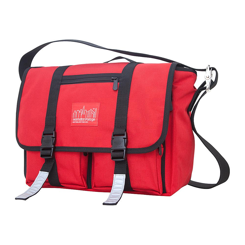 Manhattan Portage Trotter Messenger Bag Jr. Red - Manhattan Portage Messenger Bags - Work Bags & Briefcases, Messenger Bags