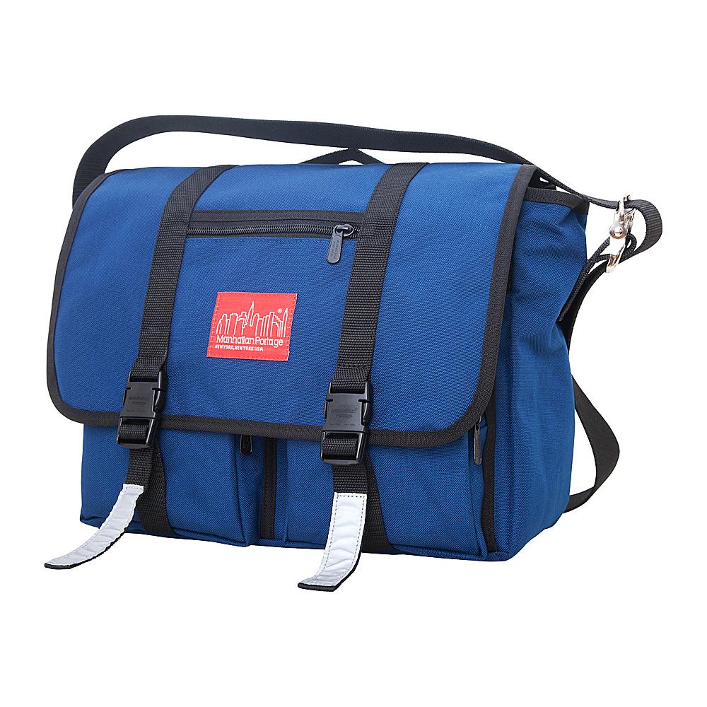Manhattan Portage Trotter Messenger Bag Jr. Navy - Manhattan Portage Messenger Bags - Work Bags & Briefcases, Messenger Bags