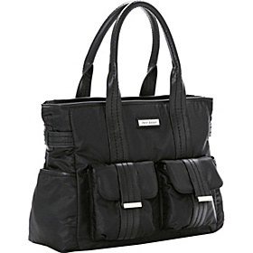 Zoey Tote Diaper Bag Black