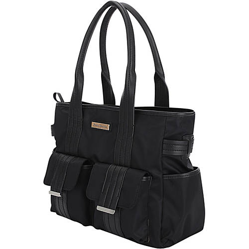perry mackin zoey tote diaper bag. Black Bedroom Furniture Sets. Home Design Ideas