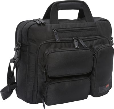 Mobile Edge Corporate Briefcase- 16 inchPC/17 inchMac Black - Mobile Edge Non-Wheeled Business Cases