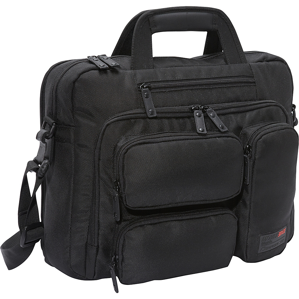 Mobile Edge Corporate Briefcase 16 PC 17 Mac Black Mobile Edge Non Wheeled Business Cases