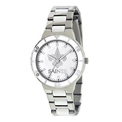 Game Time New Orleans Saints NFL Women's Pearl Series Watch 10209369