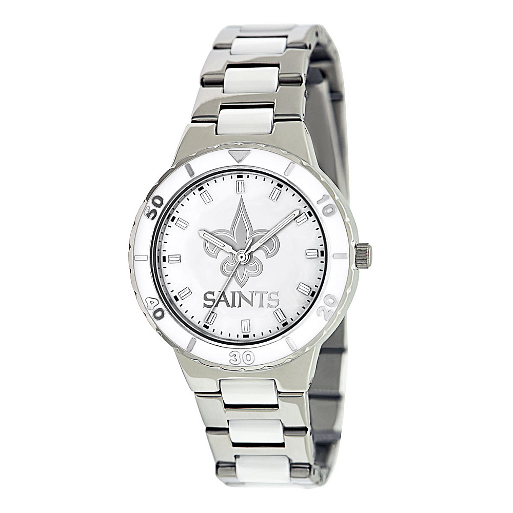 Game Time Pearl-NFL New Orleans Saints - Game Time Watches - Fashion Accessories, Watches