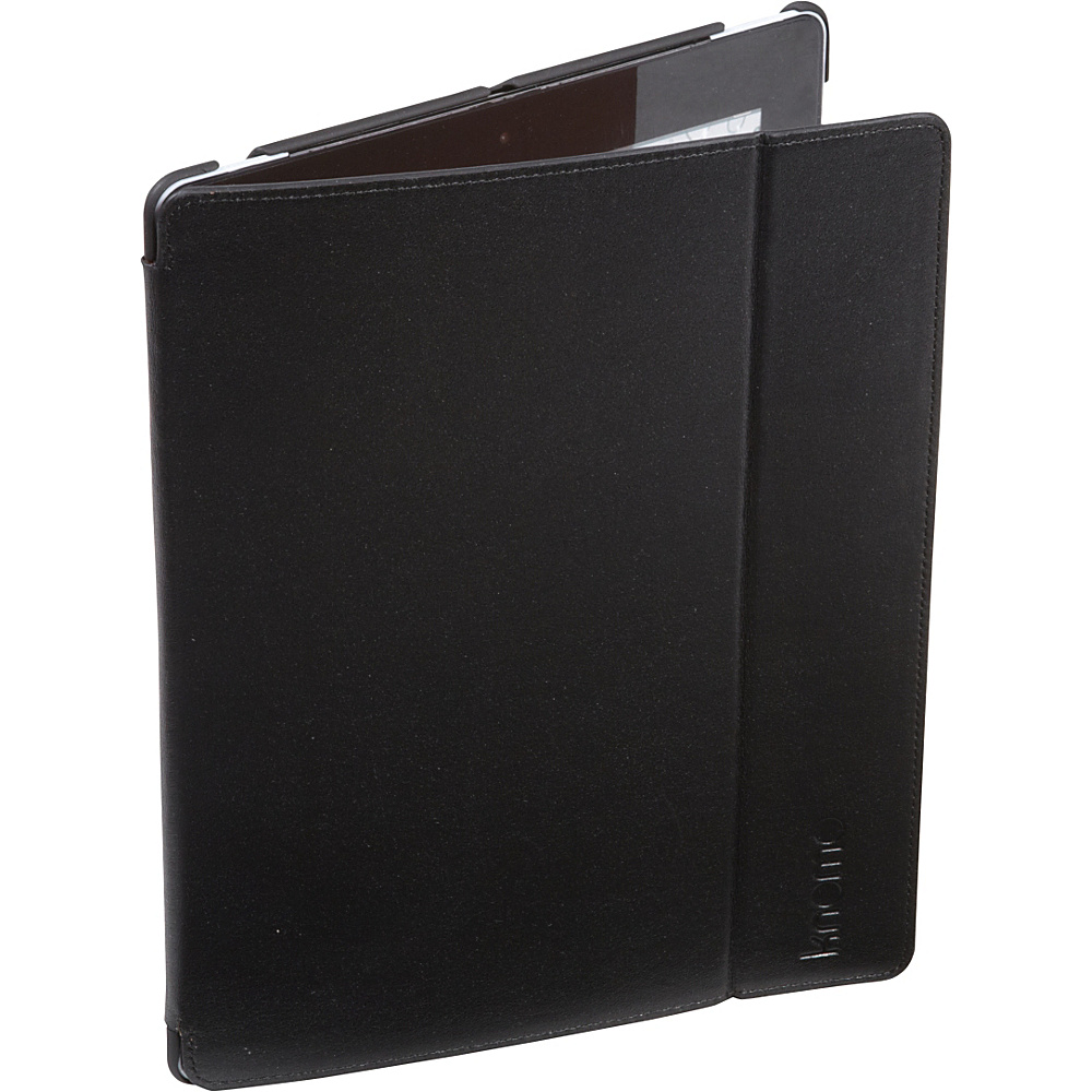 KNOMO London iPad 3 4 Leather Folio Black KNOMO London Electronic Cases
