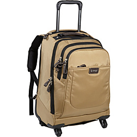 Contempo Foldable 21'' Spinner Backpack Tan