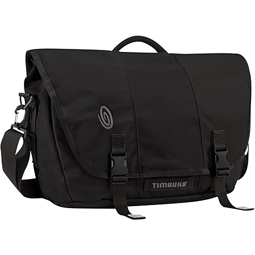 Timbuk2 Commute Laptop TSA-Friendly Messenger - L Black/Black/Black - Timbuk2 Messenger Bags