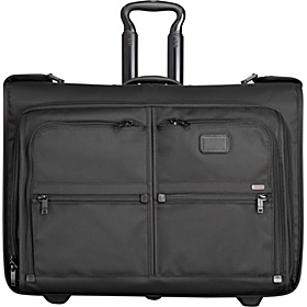 Alpha Wheeled Garment Bag Black