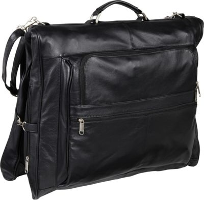 suitcase with garment bag