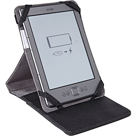 CrossWork-T: Kindle, Kindle Touch and Kindle Paperwhite Folio & Stand  Black Taiga