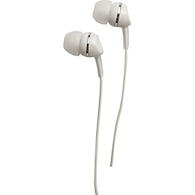 Metallics Earbud White