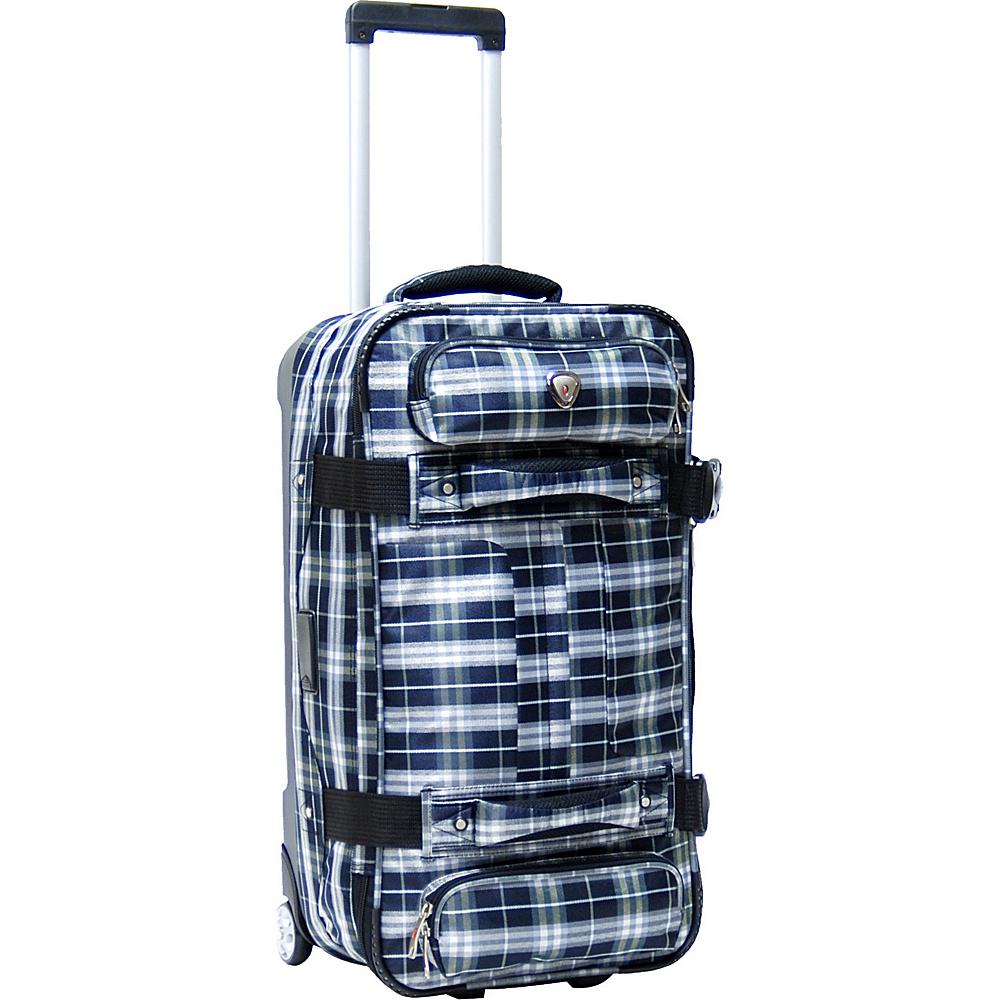 "CalPak Supra 26"" Duffel Bag - CLOSEOUT Marine Plaid - CalPak Travel Duffels"