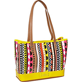 Can't Stop Shopper Medium Tote Pink Multi/Sunshine