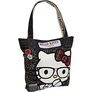 Nerd Hello Kitty Coloring Pages http://www.handbags.com/loungefly/hello-kitty-nerds-composition-tote/243768