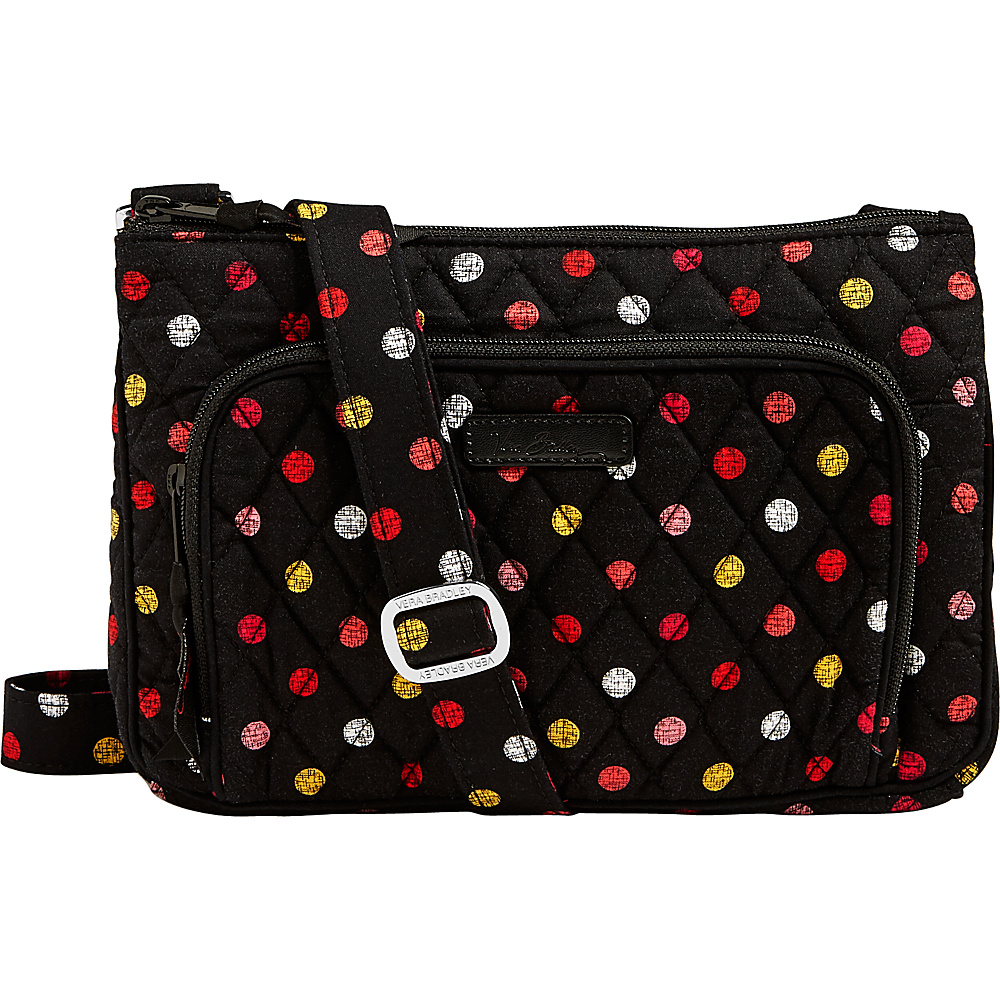 Vera Bradley Little Hipster Crossbody Havana Dots - Vera Bradley Fabric Handbags - Handbags, Fabric Handbags