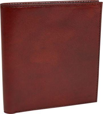 Bosca Old Leather 12 Pocket Credit Wallet Old Leather Cognac