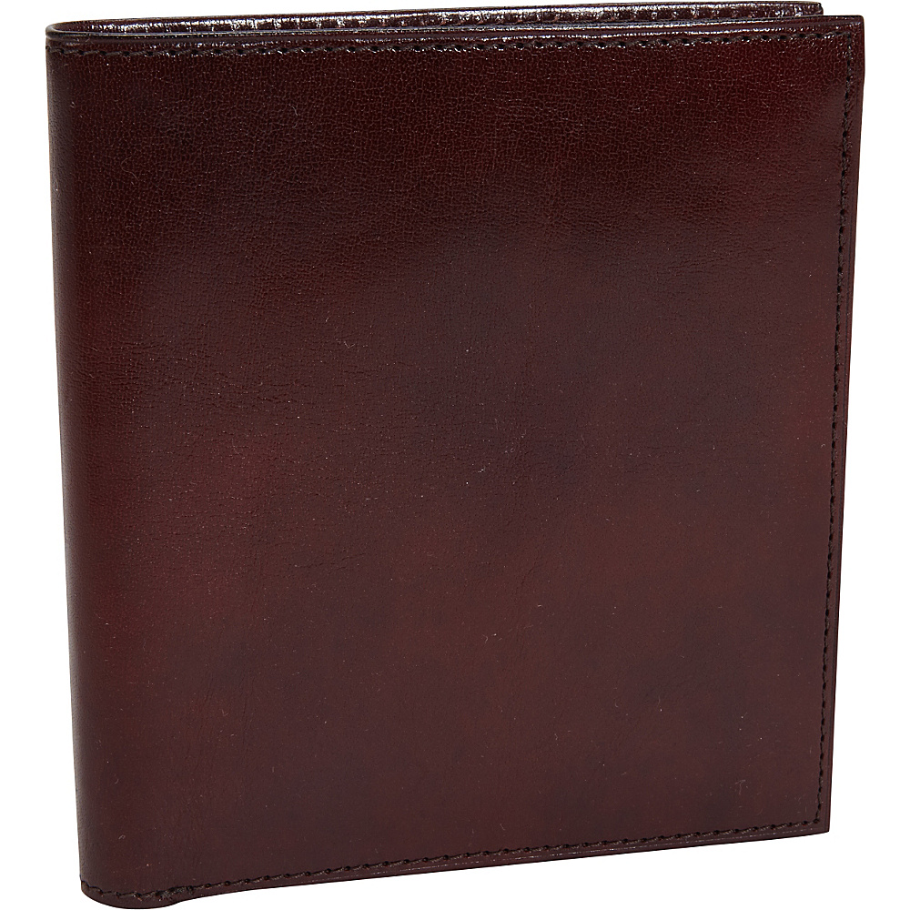 Bosca Old Leather 12 Pocket Credit Wallet Dark Brown - Bosca Men's Wallets
