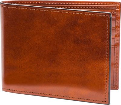 Bosca Old Leather Continental ID Wallet Old Leather Amber