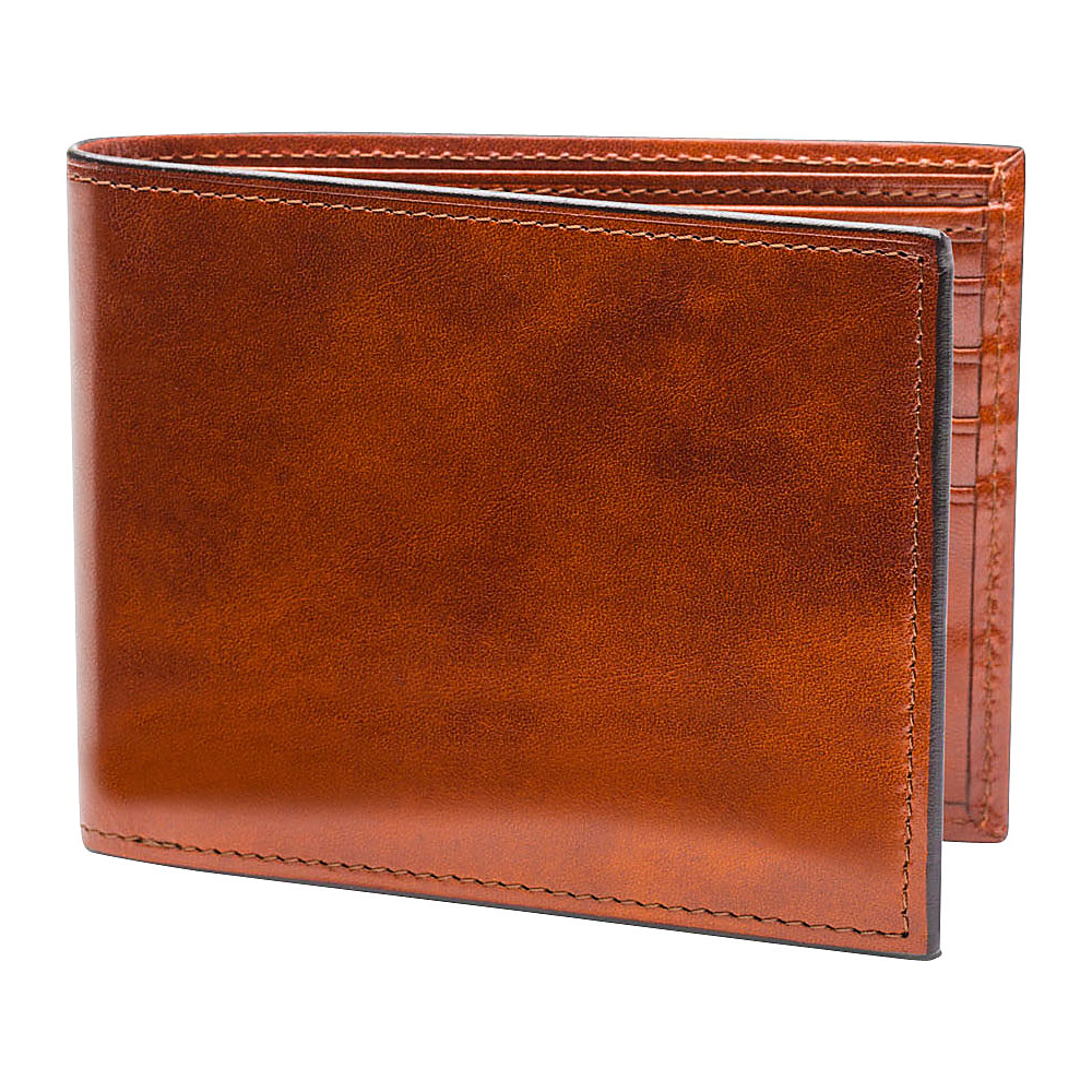 Bosca Old Leather Continental ID Wallet Old Leather Amber (27) - Bosca Men's Wallets