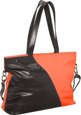 Latico Leathers Dannie Tote Salmon/Espresso - Latico Leathers Fabric Handbags