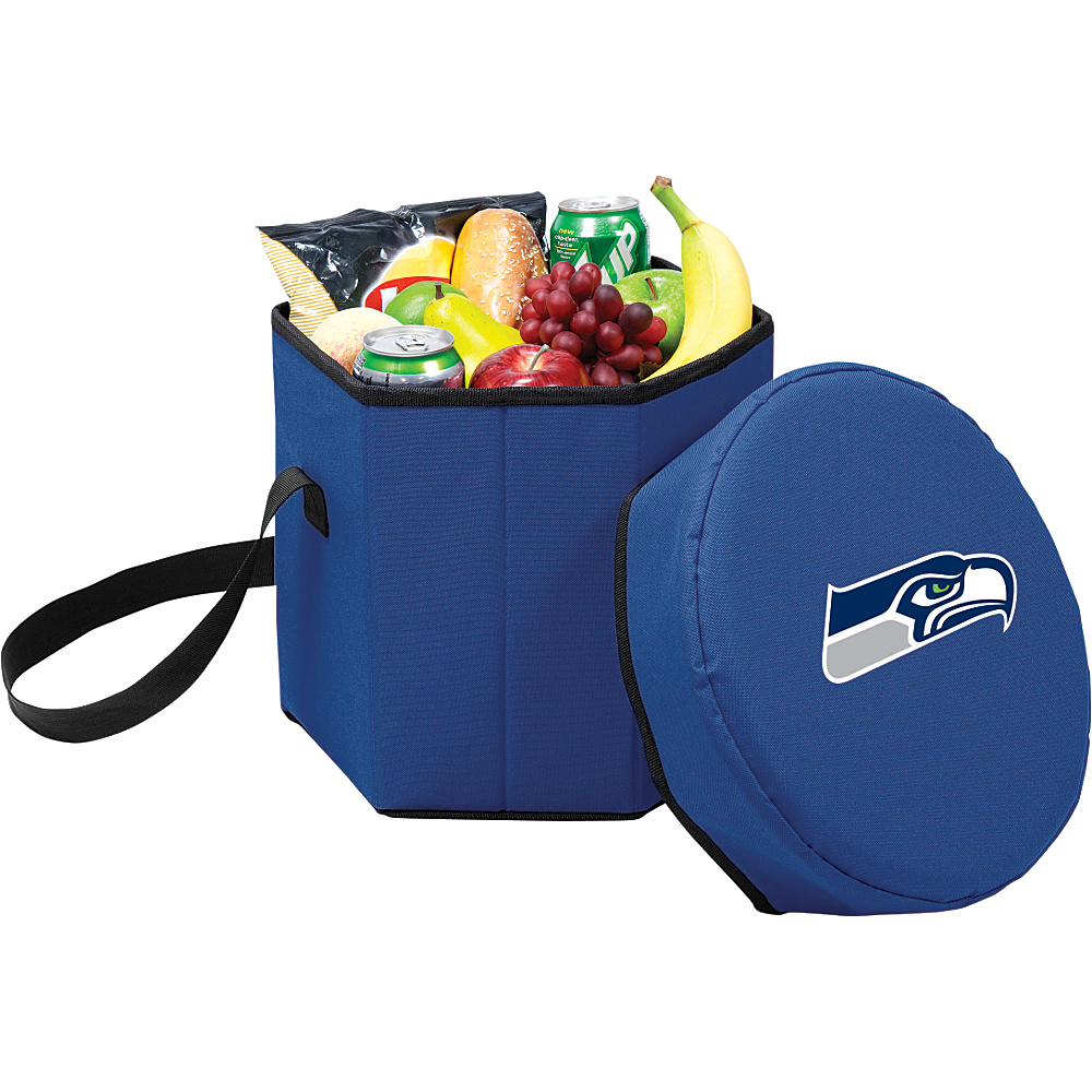 Picnic Time Seattle Seahawks Bongo Cooler Seattle Seahawks Navy - Picnic Time Outdoor Coolers - Outdoor, Outdoor Coolers