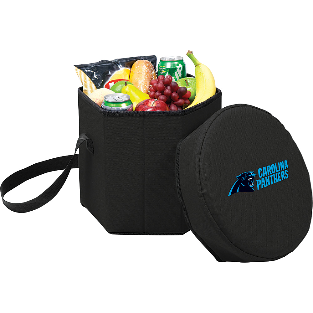 Picnic Time Carolina Panthers Bongo Cooler Carolina Panthers Black - Picnic Time Outdoor Coolers - Outdoor, Outdoor Coolers