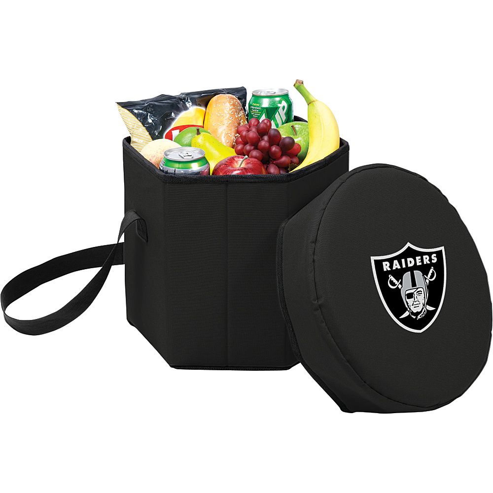 Picnic Time Oakland Raiders Bongo Cooler Oakland Raiders Black - Picnic Time Outdoor Coolers - Outdoor, Outdoor Coolers