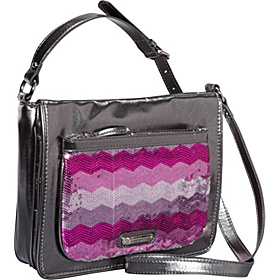 Can't Stop Shopper Medium Tech Crossbody  Purple-Multi/Pewter