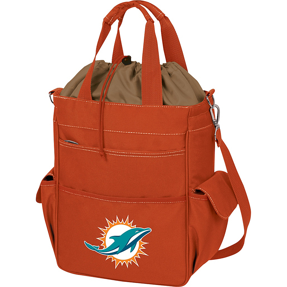 Picnic Time Miami Dolphins Activo Cooler Miami Dolphins Orange - Picnic Time Outdoor Coolers - Outdoor, Outdoor Coolers