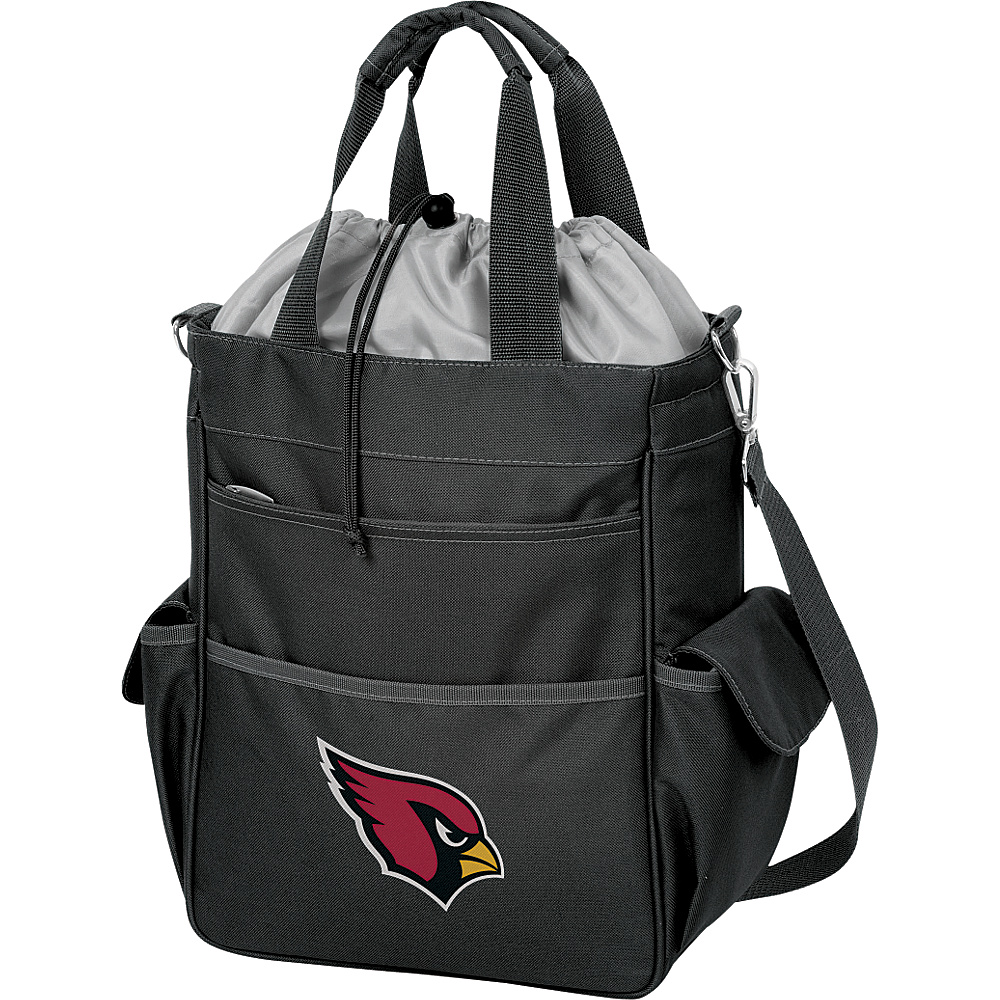 Picnic Time Arizona Cardinals Activo Cooler Arizona Cardinals Black - Picnic Time Outdoor Coolers - Outdoor, Outdoor Coolers