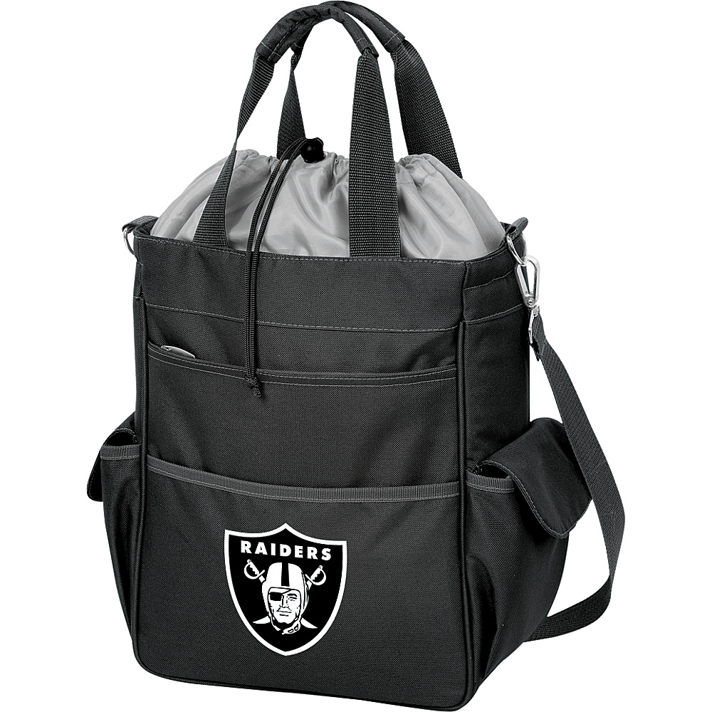 Picnic Time Oakland Raiders Activo Cooler Oakland Raiders Black - Picnic Time Outdoor Coolers - Outdoor, Outdoor Coolers