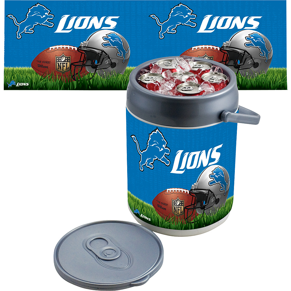 Picnic Time Detroit Lions Can Cooler Detroit Lions - Picnic Time Outdoor Coolers - Outdoor, Outdoor Coolers