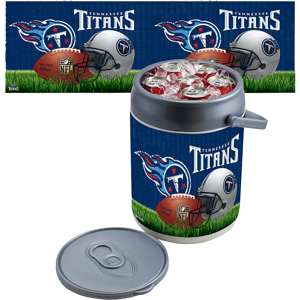 Picnic Time Tennessee Titans Can Cooler Tennessee Titans - Picnic Time Outdoor Coolers - Outdoor, Outdoor Coolers