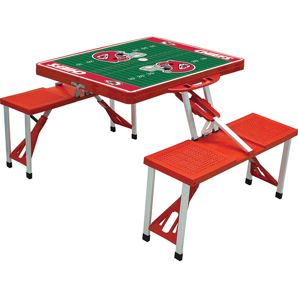 Picnic Time Kansas City Chiefs Picnic Table Sport Kansas City Chiefs Red - Picnic Time Outdoor Accessories - Outdoor, Outdoor Accessories
