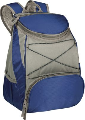 Picnic Time PTX Backpack Cooler Navy Blue - Picnic Time Travel Coolers