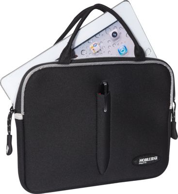 Mobile Edge iPad / Tablet SlipSuit & Stylus / Pen Combo Black - Mobile Edge Electronic Cases