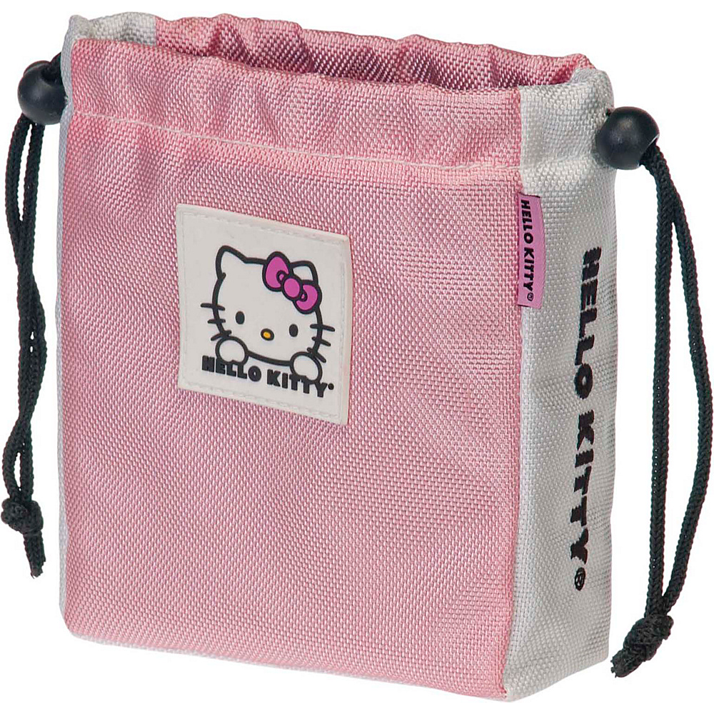 Hello Kitty Golf Hello Kitty Golf The Collection Ball Tee Pouch Pink Hello Kitty Golf Sports Accessories