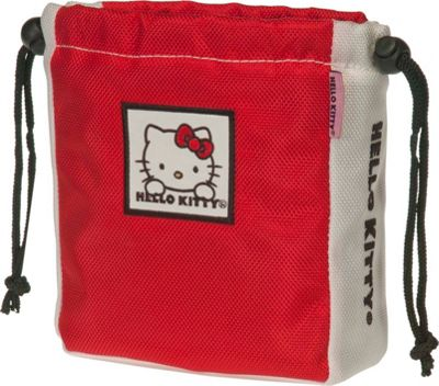 Hello Kitty Golf Hello Kitty Golf  inchThe Collection inch Ball & Tee Pouch Red - Hello Kitty Golf Sports Accessories