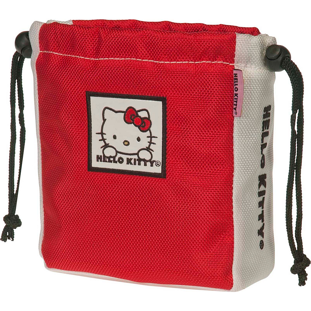 Hello Kitty Golf Hello Kitty Golf The Collection Ball Tee Pouch Red Hello Kitty Golf Sports Accessories