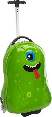 TrendyKid Alien Kids' Rolling Carry On Alien - TrendyKid Kids' Luggage