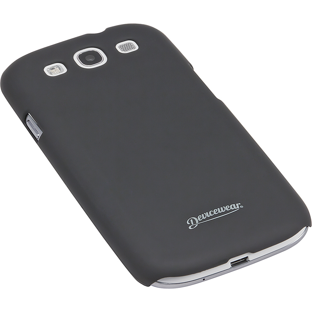 Devicewear Metro: Samsung Galaxy S III Case (For All Galaxy S3 Phones from AT & T,  T-Mobile,  Sprint,  Verizon,  or Unlocked) Black - Devicewear Electronic Cases