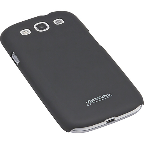 Devicewear Metro: Samsung Galaxy S III Case (For All Galaxy S3 Phones from AT&T, T-Mobile, Sprint, Verizon, or Unlocked) Black - Devicewear Personal Electronic