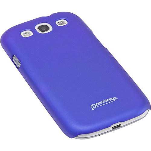 Devicewear Metro: Samsung Galaxy S III Case (For All Galaxy S3 Phones from AT&T, T-Mobile, Sprint, Verizon, or Unlocked) Blue - Devicewear Personal Electronic C
