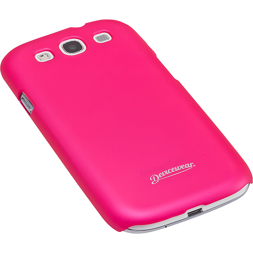 Devicewear Metro: Samsung Galaxy S III Case (For All Galaxy S3 Phones from AT & T,  T-Mobile,  Sprint,  Verizon,  or Unlocked) Pink - Devicewear Electronic Cases