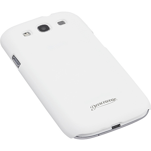 Devicewear Metro: Samsung Galaxy S III Case (For All Galaxy S3 Phones from AT&T, T-Mobile, Sprint, Verizon, or Unlocked) White - Devicewear Personal Electronic